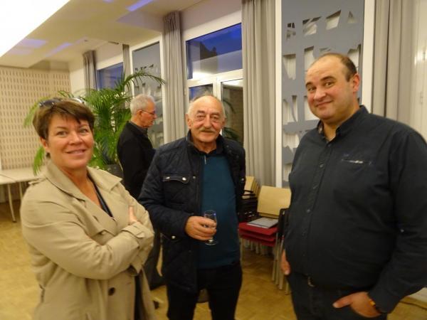 019-DSC01390 - Nathalie LE BERRE (Mairie) - Gilles GUITTENY et Pierre CHEREAU (Mairie)