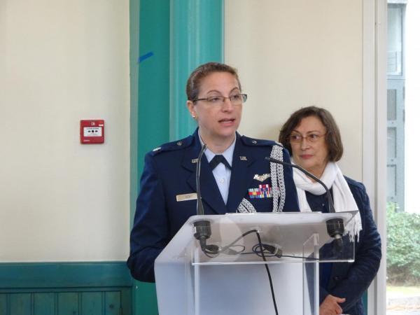 107_DSC01562 - Lieutenant Colonel Phyllis KENT (Ambassade Américaine)