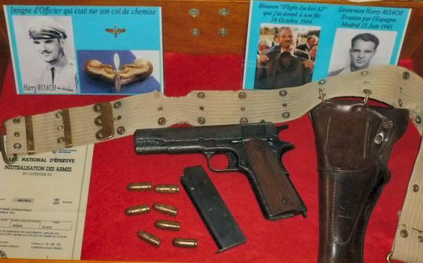 110b-Colt 45 2Lt Harry ROACH (Neutralisation Ste Etienne-Catégorie D2)