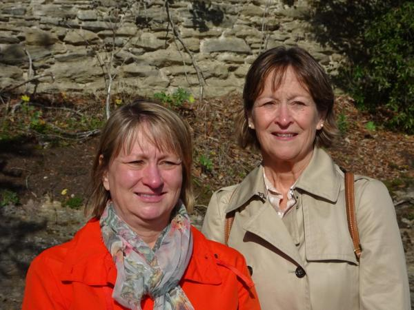 163_DSC01683 - Visite de Pornic - Elaine LESNAK et  Connie KOCIS