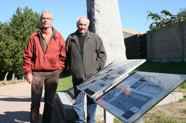 Gustave Ferré, dernier survivant, avec Michel Gautier - 13/10/2010