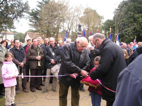 Gustave Ferré et Yannick Haury_inauguration allée du 17 mars 1945