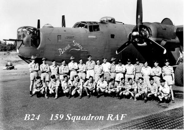 B24 159th Squadron RAF