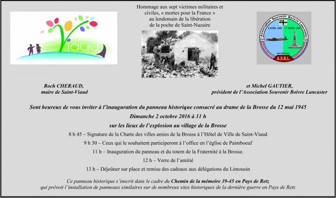 Carton d invitation La Brosse