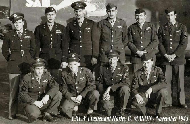 Crew Lt Mason - November 1943
