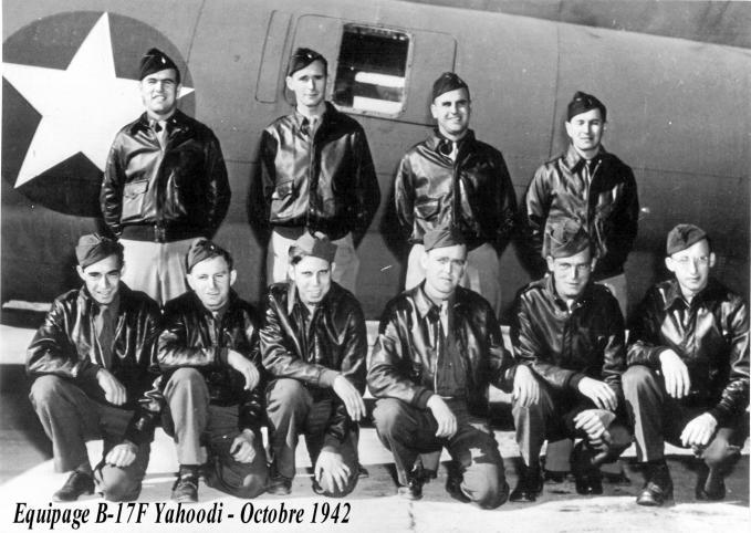 Equipage b17 yahoodi octobre 1942 tr1