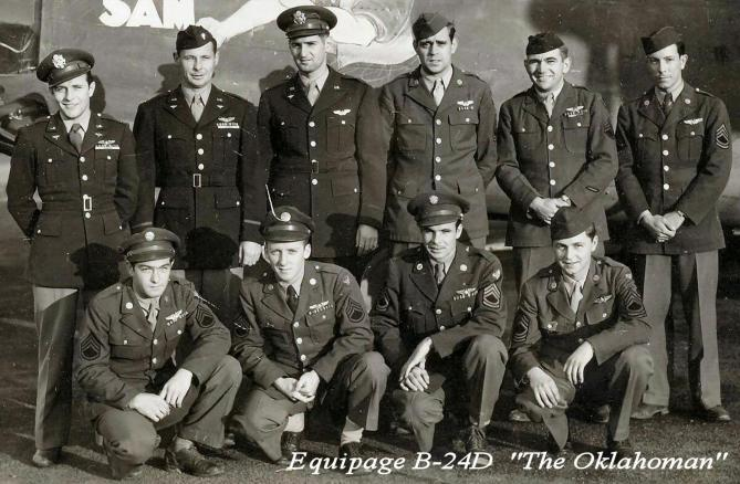 Equipage B24 The Oklahoman T