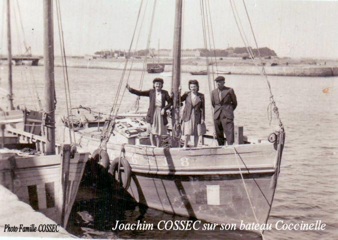 Joachim cossec bateau coccinelle le croisic