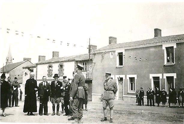 Mairie st viaud 11 mai 1945
