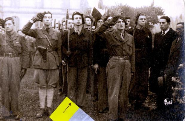 Prise d armes 11 novembre 1944